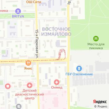 Галмед на Яндекс.Картах