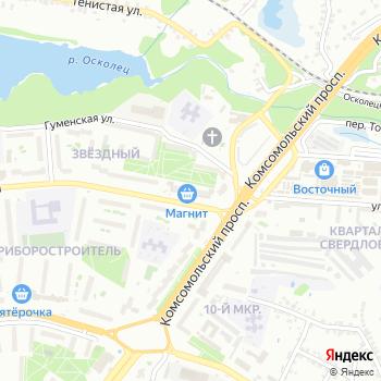 Почта с индексом 309518 на Яндекс.Картах