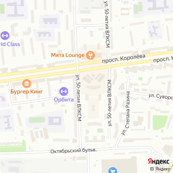 Сити-М на Яндекс.Картах