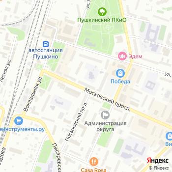 Арт-Ликор на Яндекс.Картах