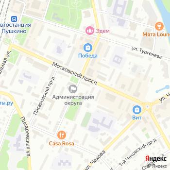 ИНВИТРО на Яндекс.Картах