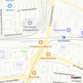 Тарантас на Яндекс.Картах