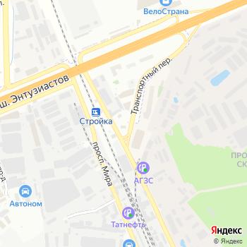 Газпромнефть на Яндекс.Картах