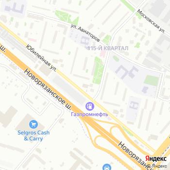 Почта с индексом 140011 на Яндекс.Картах