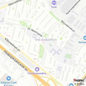 Люберецкая поликлиника №1 на Яндекс.Картах