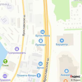СТАЛ на Яндекс.Картах