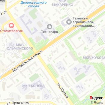 Агат на Яндекс.Картах