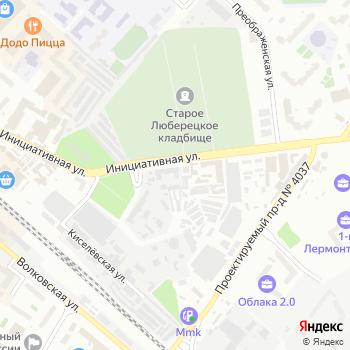 СВИПА на Яндекс.Картах