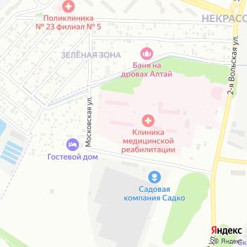 Городская больница №10 на Яндекс.Картах