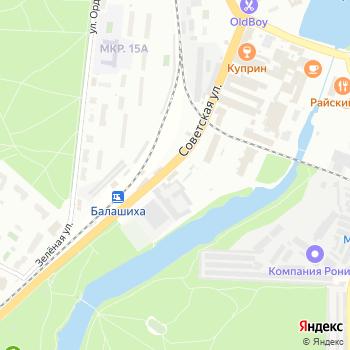 Экспресс-Сервис на Яндекс.Картах