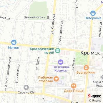 Управление культуры на Яндекс.Картах