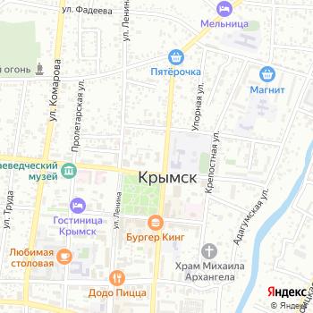 Администрация Крымского района на Яндекс.Картах