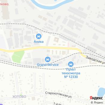 Каскад на Яндекс.Картах