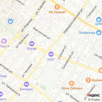 Водопад на Яндекс.Картах