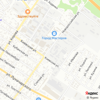 Серебряная вода на Яндекс.Картах