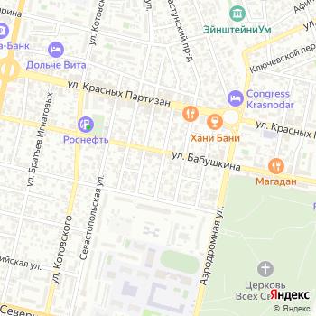 На Бабушкина на Яндекс.Картах
