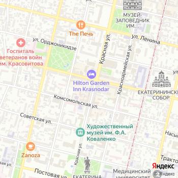 Управление МВД России по г. Краснодару на Яндекс.Картах