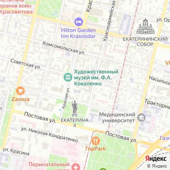 Почта с индексом 350064 на Яндекс.Картах