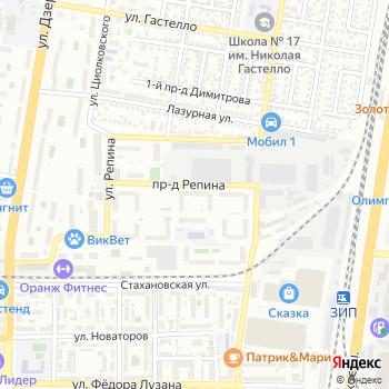 Ателье на Яндекс.Картах