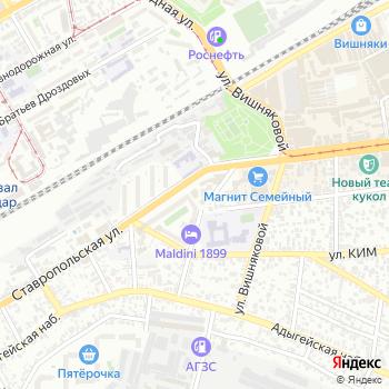 Фонд социального страхования РФ на Яндекс.Картах