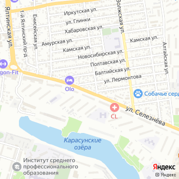 Прохлада на Яндекс.Картах
