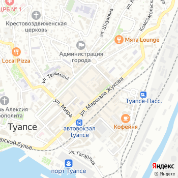 Юность на Яндекс.Картах
