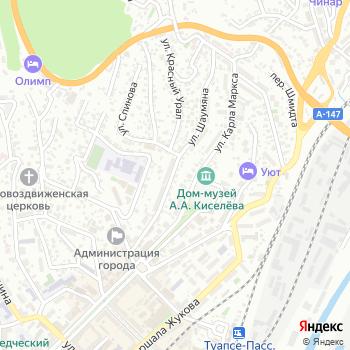 EXIST на Яндекс.Картах