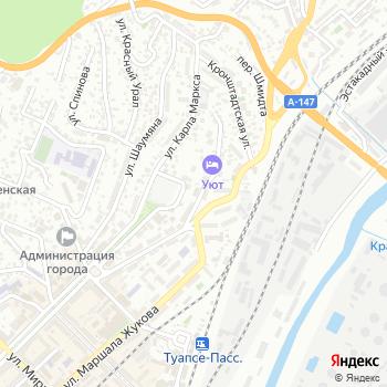 Туапсекурорт на Яндекс.Картах