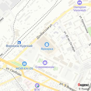 Окна Века на Яндекс.Картах