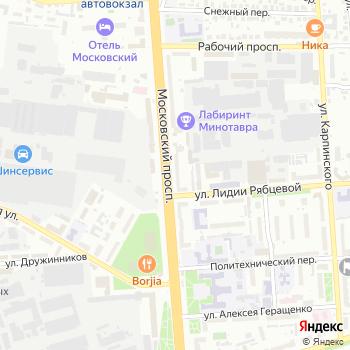Аллигатор на Яндекс.Картах