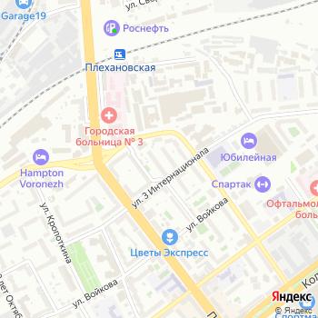 Почта с индексом 394030 на Яндекс.Картах