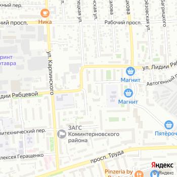 Пожарная часть Коминтерновского района на Яндекс.Картах