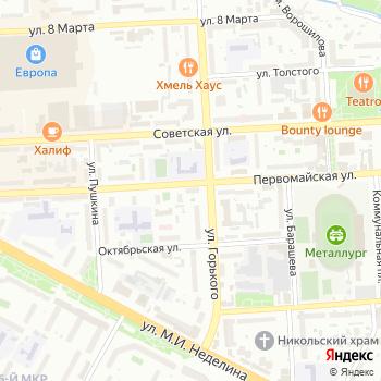 Ванильное небо на Яндекс.Картах
