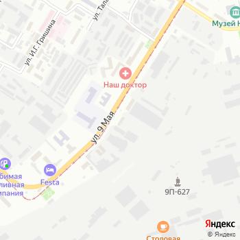 ТЕХОСМОТР на Яндекс.Картах