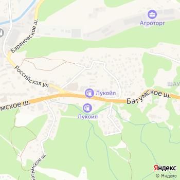 Сочинский автоцентр на Яндекс.Картах