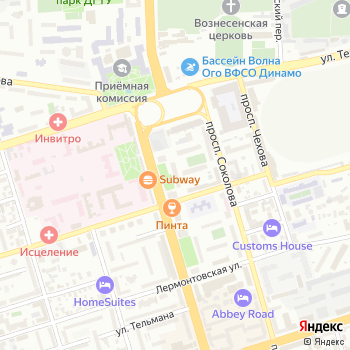 Актиформула на Яндекс.Картах
