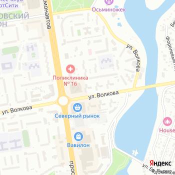 Сток-Маркет на Яндекс.Картах