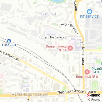 Натиск на Яндекс.Картах