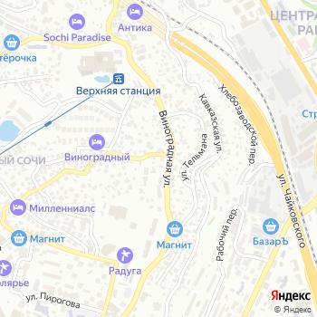 Деловой мир Сочи на Яндекс.Картах