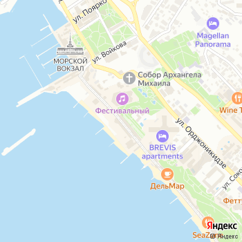 Panter на Яндекс.Картах