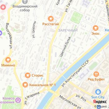 Столовая №001 на Яндекс.Картах