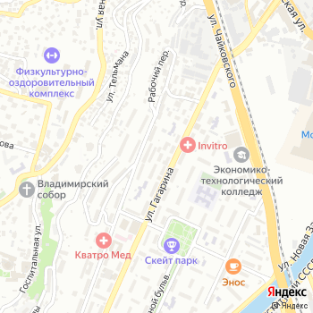 Сейф-сервис на Яндекс.Картах