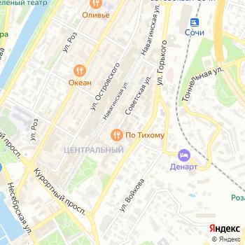 Welcome to Sochi на Яндекс.Картах