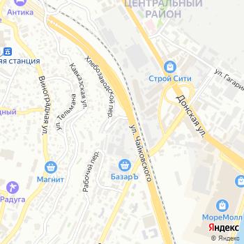 Сочинский хлебокомбинат на Яндекс.Картах