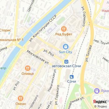 Спутниковое ТВ на Яндекс.Картах