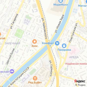 Чайковского на Яндекс.Картах