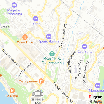 Литературно-мемориальный музей им. Н. Островского на Яндекс.Картах