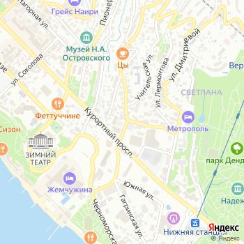 Киоск фастфудной продукции на Яндекс.Картах