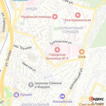 Городская больница №4 на Яндекс.Картах