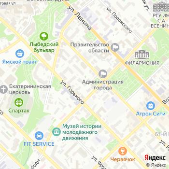 Интерстрой на Яндекс.Картах